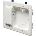 Arlington TVL508 Low Profile TV Box for Shallow Wall Depths