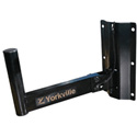 Yorkville SKS-WALL2 Single Speaker Wall Mount w/ 1 3/8in Mount - Three-Position Tilt Range (Approx. Capacity 55lbs/25kg)