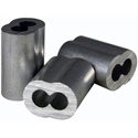 Fehr Bros 1/16 Aluminum Swage Rigging Sleeves (100 Pk)