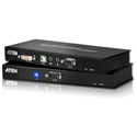 ATEN CE602 DVI Dual Link Console Extender with Audio/Serial Support up to 200 Feet - TAA Compliant