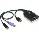 ATEN KA7168 USB HDMI Virtual Media KVM Adapter with Smart Card Support