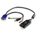 ATEN KA7176 USB CPU Adapter with Virtual Media & Audio Support
