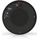 Atlas M1000R-BK 8 Inch Sound Masking Speaker with 70.7V-4W Transformer and Round Enclosure - Black