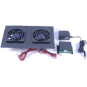 ATM 00-401-01 SEC-1 Small Enclosure Cooler - with Two Fans Thermal Control Assembly Fan Mounting Plate and Power Supply