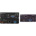 Atlona 4K-HDVS-EXT HDVS-200TX with AT-UHD-EX-100CE-RX-PSE with Three-Input Switcher-Ethernet-Control and PoE