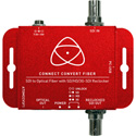 Atomos ATOMCCVSF1 Connect Convert Fiber - SDI to Optical Fiber Converter with SD/HD/3G-SDI Reclocker
