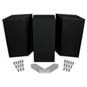 Auralex ProPanel SonoSuede Kit 2 All-In-One Premium Acoustical Room Treatment Systems