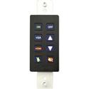 Aurora DXB-8-BK 8-Button Backlit Panel - Black
