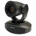 Avipas AV-1280G 10x Full-HD 3G-SDI PTZ Camera with IP Live Streaming and PoE Supported in Dark Gray Color