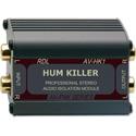 RDL AV-HK1 HUM KILLER Stereo Audio Isolation Transformer