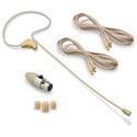 Avlex HSP-09BG Single Ear Headworn Microphone - Beige