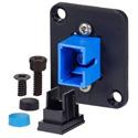 AVP UMF-SMS-SC-BL Maxxum SC Singlemode Simplex Fiber Optic Mount Feedthru Blue Adapter Plate(s)/Hardware MIS Color-Code