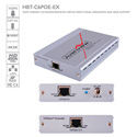 Avenview HBT-C6POE-EX HDBaseT HDMI CAT5/6/7 Repeater with POE/LAN/RS-232/ Bi-directional IR 100m