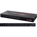 Avenview HBT-C6POE-SP8 1x8 HDBaseT HDMI POE CAT5/6/7 Splitter 4K2K 3D IR Support