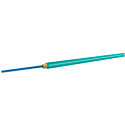 OCC AX001NALE9QR Simplex 10-Gig Multimode OM4-50u Aqua Fiber Optic Cable - Ft