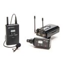 Azden 330LX Lavalier Mic & XLR Plug-In Camera Mount Dual Wireless Mic System