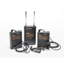 Azden WDL-PRO Dual Wireless Body-Pack Kit