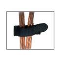 Rip-Tie B-02-E20-BK 3/4 x 2 Inch Econo Catch 20 Pack- Black