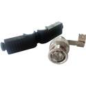 BNC Male Right Angle Solderless RG-59 and RG-62