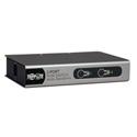 Tripp Lite B022-002-KT-R 2-Port Desktop KVM Switch w/ 2 KVM Cable Kits
