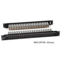 Bittree B52T-2WTHD 2x26 2RU Panel - Black - Normalling -Terminating