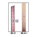 BB-40 Solid Copper Buss Bar 40 Space (70in) Flat Threaded 10-32