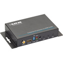 Black Box AVSC-VIDEO-HDMI Component/Composite-to-HDMI Scaler and Converter with Audio