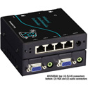 Black Box AVU5004A Wizard Multimedia 4 Channel Transmitter - Extends A/V Channels Over CATX