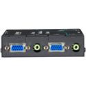 Black Box AVU5111A-R2 Wizard Multimedia Receiver with Dual Video/Stereo Audio Ports - CATx Daisychain Port