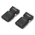 Black Box AVX-DVI-FO-MINI Mini Extender Kit for DVI-D - Stereo Audio over Fiber