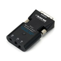 Black Box AVX-DVI-FO-MINI-RX Mini Extender Receiver Only for DVI-D and Stereo Audio over Fiber