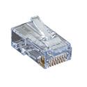 Black Box C6EZUP-100PAK CAT6 EZ-RJ45 Modular Plugs - 100-Pack