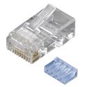 Black Box FMTP6-R2-50PAK Cat6 Unshielded Modular Plug - 50-Pack