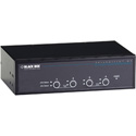 Black Box KV9624A 4-Port Desktop KVM Switch - Dual-Head DVI-D - USB