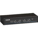 Black Box KV9704A Desktop KVM Switch 4-Port DisplayPort USB Bi-Dir USB Audio