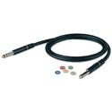 Canare BC003M Audio Patch Cord - Bantam-Bantam - 0.3 Meter
