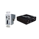 Link Bridge LBO-H-AD-R-M-SC HDMI Video Receiver with Audio and Data - MMF-SC - One Fiber