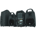 Behringer PPA500BT Ultra-Compact 500-Watt 6-Channel Portable PA System