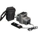 Bescor MP-1B Motorized Pan Head with MP-REMOTE & 90-645 External Extended Power Battery