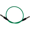 Bittree VPC1205-75 Standard WECO 75 ohm Video Patch Cables - Green