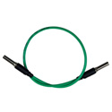 Bittree VPC1805-75 Standard WECO Patch Cable - 18 Inch Green