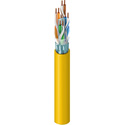 Belden 1351A Multi-Conductor - DataTwist 6 ScTP Cable - Yellow - 1000 Foot