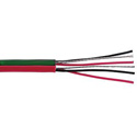 Belden 1504A 2-Pair A/D Audio/Control/Instrument Cable - Red/Green - Unreel Box 1000 Foot