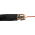 Belden 1506A RG59/20 SDI/Plenum Coaxial Cable - Black - 500 Foot