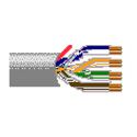Belden 1702A Multi-Conductor Enhanced CAT5e Bonded-Pair Cable - Gray - 1000 Foot
