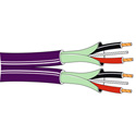 Belden 1802B 2Pr x 24awg Tinned Copper Cable - Violet - 500 Foot