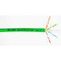Belden 2413 23 AWG Enhanced Category 6 Nonbonded-Pair Cable - Green - 1000 Feet Unreel Put-Up