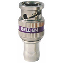 Belden 4855RBUHD1 12 GHz UHD 1-Piece BNC Compression Connector for 4855R Mini-RG59