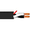 Belden 6000UE - Security & Sound 2 Conductor 12 AWG BC Unshielded CMP Cable - 1000 Foot