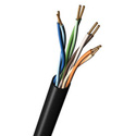 Belden 7923A Paired CAT5e DataTuff Twisted Pair Cable - Black - Per Foot